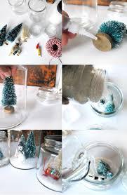 cookie jar snow globe diy