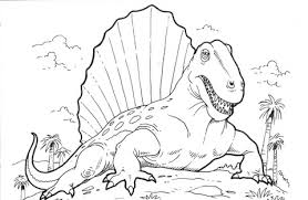 realistic dinosaur coloring