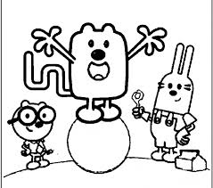 draw wow wow wubbzy kids coloring europe travel guides