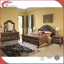 top quality solid wood bedroom furniture set antique bedroom