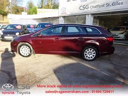 red toyota used tuscan red toyota avensis for sale buckinghamshire