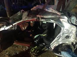 p1 crash friday night crash on albertina sisulu road in roodepoort leaves
