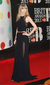 sleeveless long black chiffon taylor swift red carpet celebrity dress