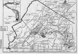 Map Of Newark Nj Canal Society Of New Jersey Morris Canal Fact Sheets