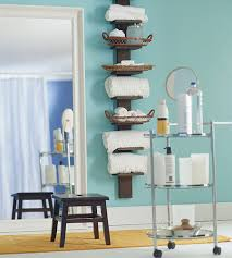 bathroom shelving for towels 57 towel shelves with hooks teak