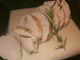 cuisine roti de porc en cocotte roti de porc au lait et romarin dans la cuisine de fabienne