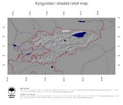Bishkek Map Map Kyrgyzstan Ginkgomaps Continent Asia Region Kyrgyzstan