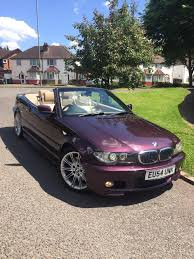 bmw 330ci convertible mauve purple in moseley west midlands
