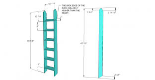 Building Plans For Twin Over Full Bunk Beds With Stairs by Free Woodworking Plans To Build An Rh Inspired Kenwood Twin Over