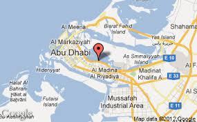 map of abu dabi hotels in eastern mangroves district eastern mangroves hotel