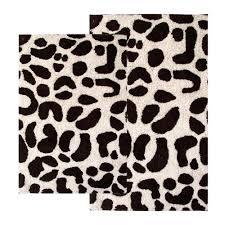 bathroom entrancing bathroom decoration with leopard print bath