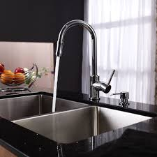 Kitchen Faucet Black Finish Sinks Faucets Delta Trinsic Kitchen 15 Single Handle Stainless