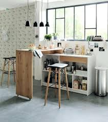 table haute pour cuisine table haute pour cuisine avec tabouret rangements pratiques pour