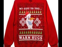 disney best sweaters frozen darth vader olaf santa