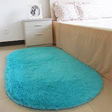60 160 cm long oval fluffy sofa cover carpet mat area rug living