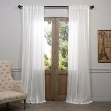 Sheer Off White Curtains Striped Sheer Curtains Polyvore