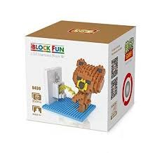 loz diamond blocks grhose loz diamond blocks nanoblock brown educational