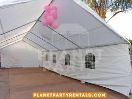 los angeles party rentals 20ft x 40ft tent rental pictures prices
