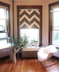 Laminate Floor Roller Turn Your Ugly Vinyl Roller Shade Into A Work Of Art Projectophile