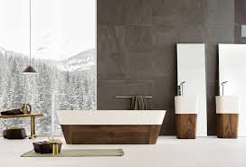 designer bathroom wallpaper beautiful contemporary bathrooms from neutra