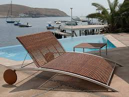 Modern Outdoor Furniture From Beltempo Wood And Metal - Designer outdoor chair