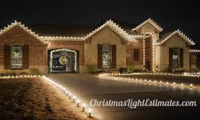 Archway Christmas Decorations by Christmas Light Installation Dallas