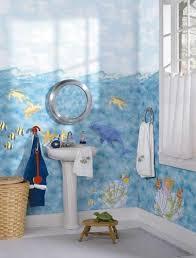 Ocean Themed Kids Room by Cartoon Themes Jungle Theme Sea Theme Kids Room Theme Ideas