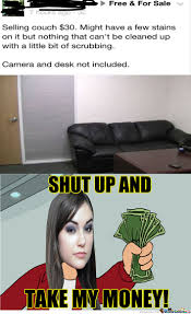 Casting Couch Meme - sasha loves the casting couch by unknownjedi meme center