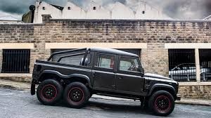 lamborghini urus 6x6 project kahn land rover defender flying huntsman 6x6 pickup imboldn