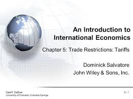 an introduction to international economics ppt video online download