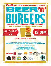 fred meyer thanksgiving august 20 beer n u0027 burgers hollywood fred meyer food beer