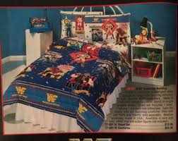 Wrestling Ring Bed by Someone Bought This 1991 Wwf Sheets And Comforter Set