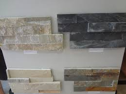 interior tumbled stone tile backsplash stacked stone backsplash