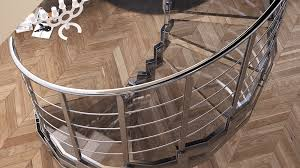 glass stairs not only beautiful but also safe