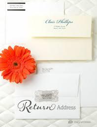 wedding invitations return address addressing wedding invitations magnetstreet weddings