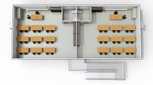 28 u0027 x 64 u0027 portable modular classrooms modspace