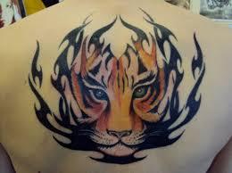 tribal tiger by mickmog on deviantart