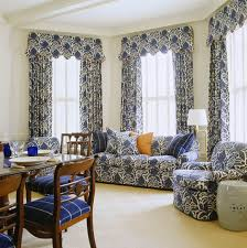 Blue And White Gingham Curtains Beautiful Rooms In Blue And White Traditional Home