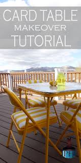 how big is a card table card table makeover tutorial tutorials paint furniture and
