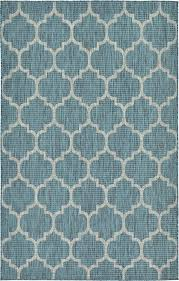Teal Living Room Rug by Charlton Home Enola Teal Outdoor Area Rug U0026 Reviews Wayfair