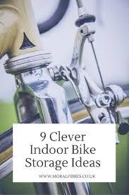clever indoor bike storage ideas moral fibres uk eco green blog