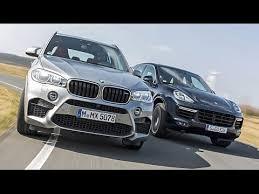 porsche cayenne vs bmw x5 duell bmw x5 m vs porsche cayenne turbo 2015