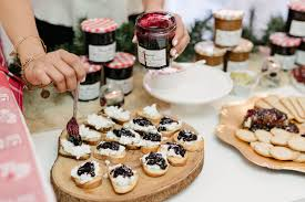 holiday cocktail party with bonne maman jam something about that
