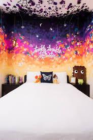 fresque chambre fille fresque murale dans une chambre de fille