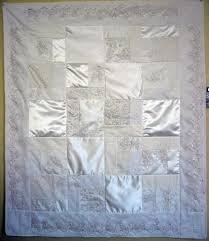 wedding dress quilt wedding dress quilt original 48x60 the patchwork