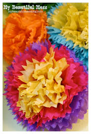 how to make mexican tissue paper flowers tutorial crafts