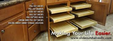 kitchen cabinet slide out shelves kitchen pull out shelves and