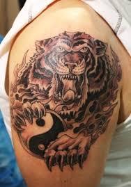 tiger tattoos shoulder design arms cool