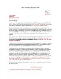 free notice of lease termination letter from landlord to tenant