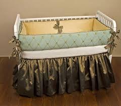 designer crib bedding pattern with birds home inspirations design